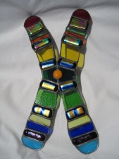 Tribal Stained Glass Chromosome