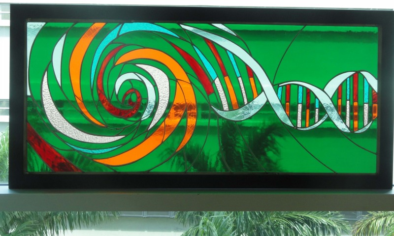 Recreate your logo in glass
